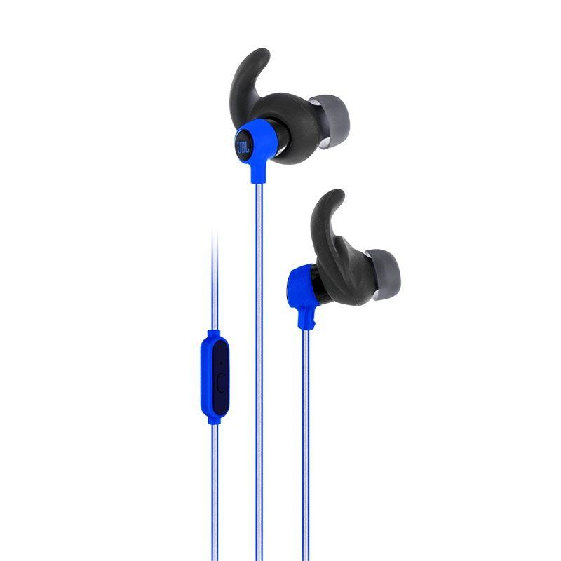 JBL Reflect Mini Blue 2 - Fone de ouvido com microfone - Azul