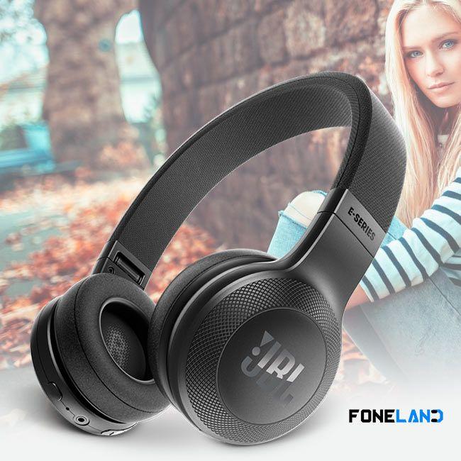 E45 BT JBL - Fone de Ouvido Bluetooth On Ear - Preto