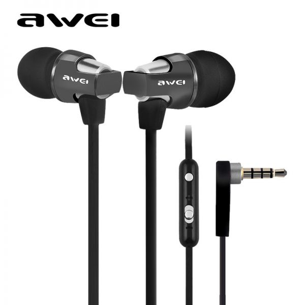 es860Hi Fone de Ouvido Super Bass Earphone In-ear Awei