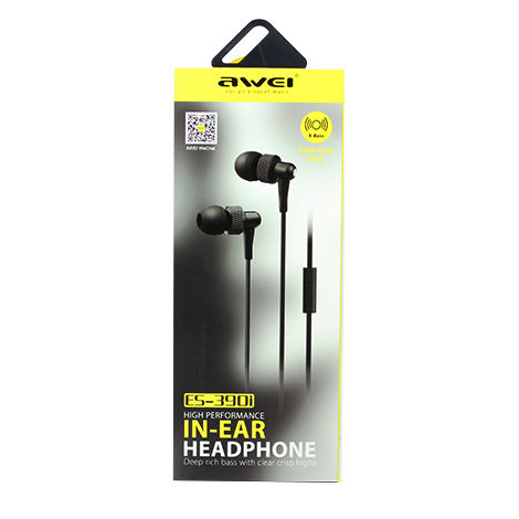 ES-390i Awei Fone de Ouvido In Ear com alta performance