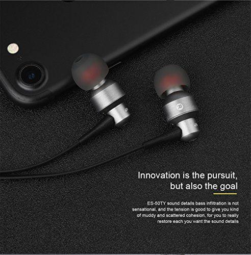ES 50TY Awei Fone de Ouvido com Microfone Preto |Foneland