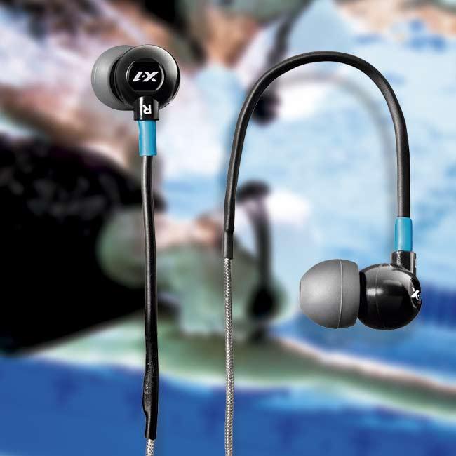 Fone à prova d'água TR1-BK - X1 ÁUDIO - Preto-Azul