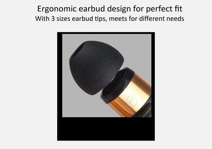 Fone de Ouvido Awei ES-12Hi Portable Stereo Earphones