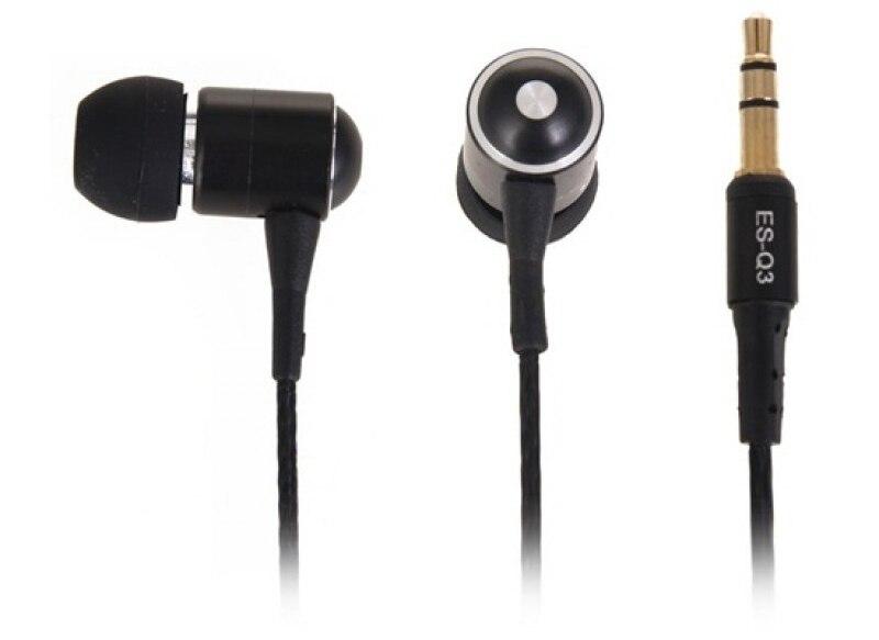 Fone de Ouvido Awei ES-Q3 Stereo In-ear Isolamento de Ruído -  Preto