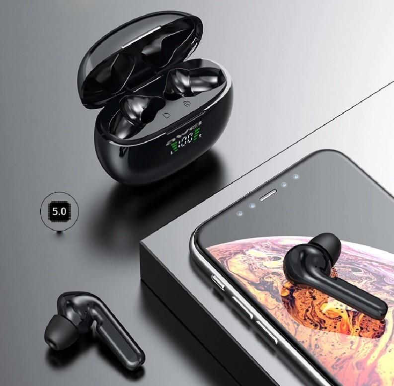 Fone De Ouvido Awei T15 Tws Bluetooth 5.0 Sweatproof