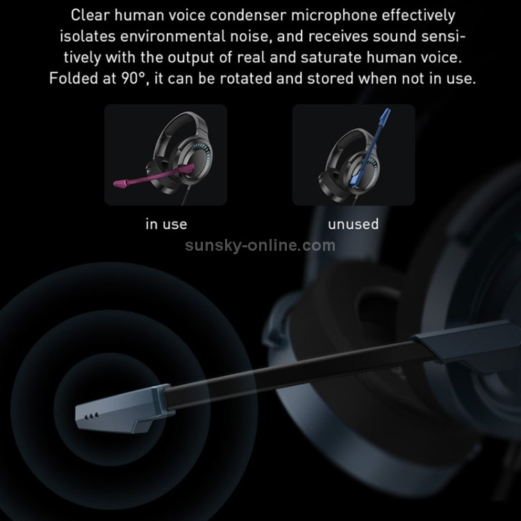 Fone de ouvido Baseus D05 Gamo