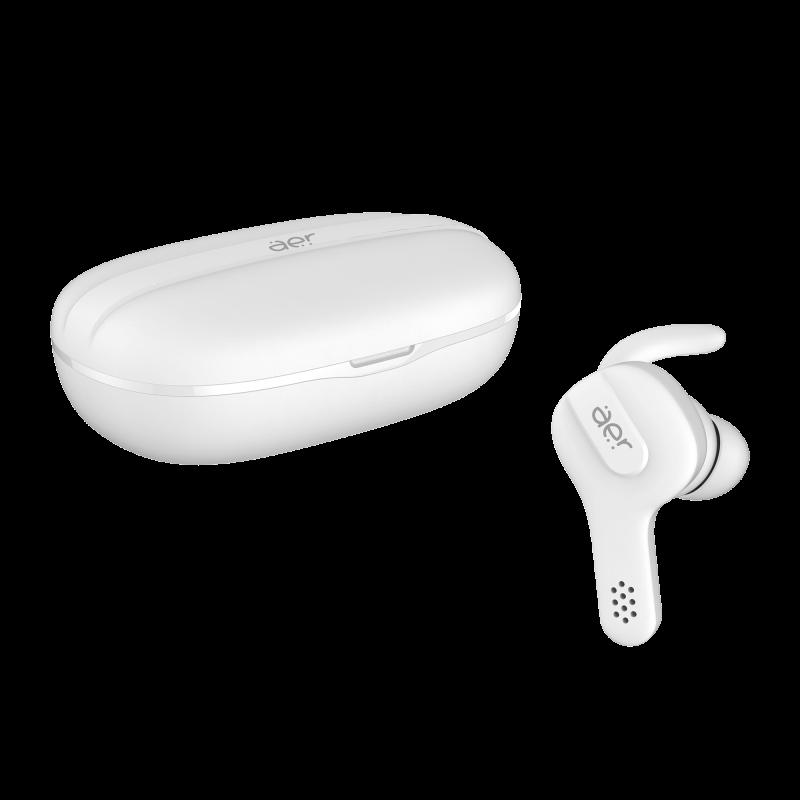 Fone de Ouvido Bluetooth Geonav Aer Free 2 - com Microfone Branco