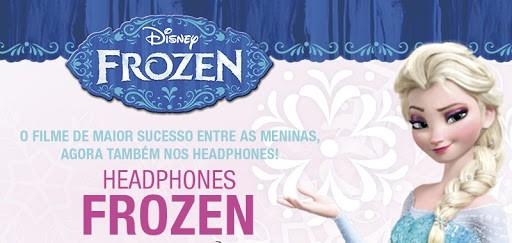Fone de Ouvido da Frozen - Multilaser PH128 Disney