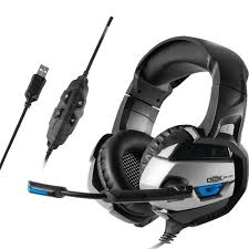 Fone de Ouvido DEX DF - 101 Headset Gamer  - Surround 7.1 USB