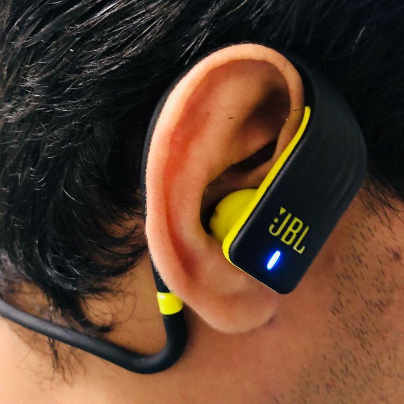 JBL ENDURANCE JUMP - Fone de Ouvido Bluetooth in ear - Preto