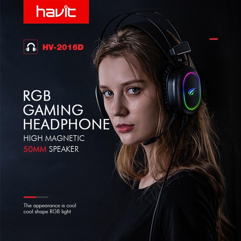 Fone de Ouvido Gamer Havit H2016D