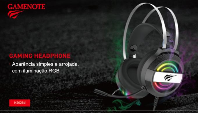Fone de Ouvido Havit H2026d Headset Gamer