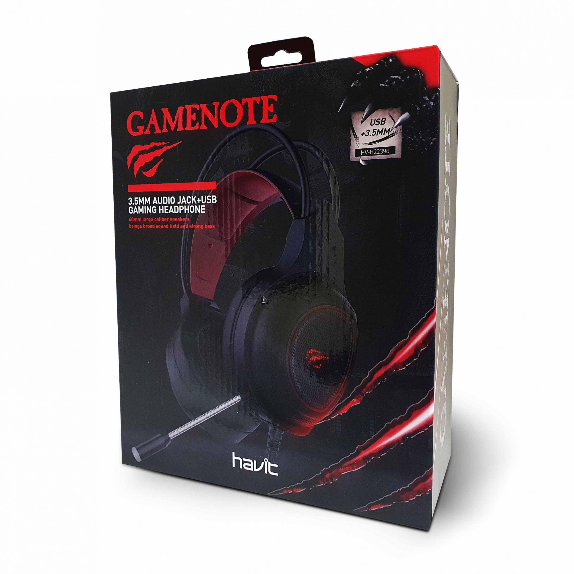 Fone de Ouvido Headset Gamer Havit H2239d  - é na FONELAND