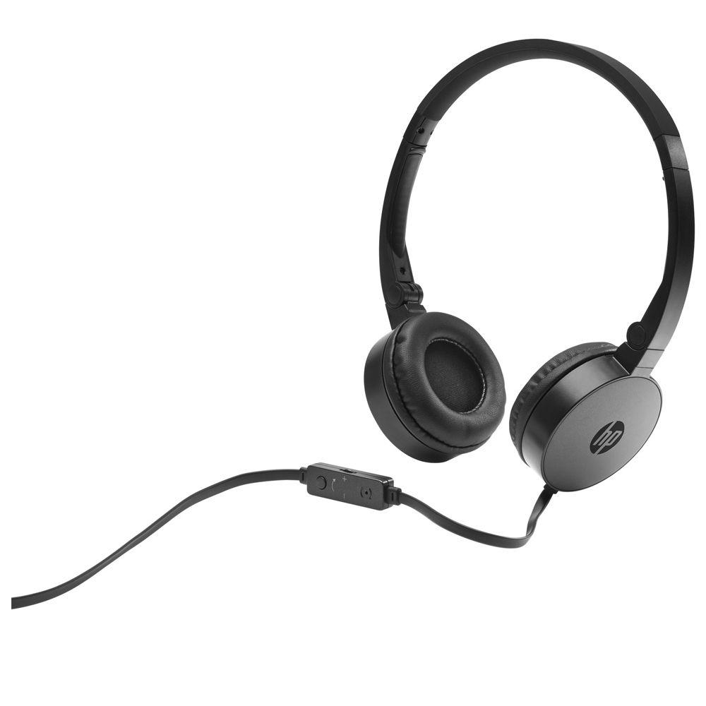 Fone de Ouvido HP H2800 Headset Casque Preto|Foneland
