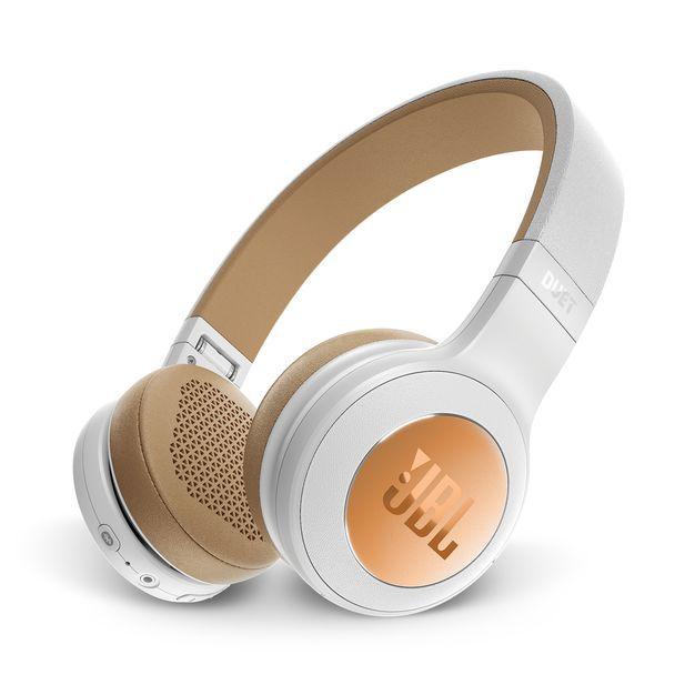 JBL DUET BT SIL Fone de Ouvido Bluetooth On ear - Branco-Marrom
