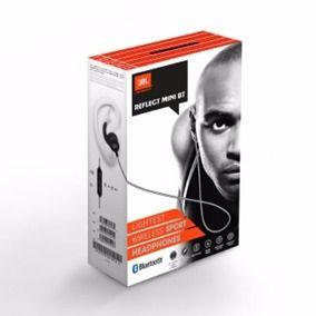 JBL Mini Reflect - Fone de ouvido Bluetooth - Preto