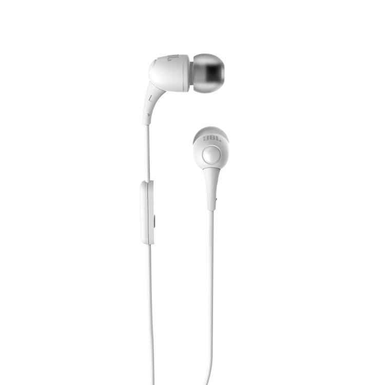Fone de ouvido JBL T100 Wht