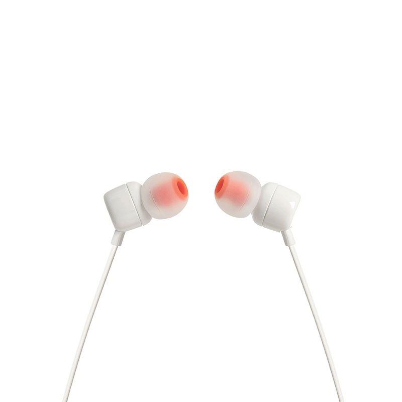 Fone de ouvido JBL T110 Wht