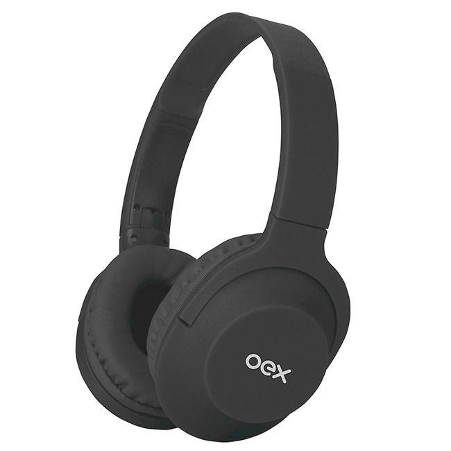Fone de ouvido OEX HS307 Headset Flow Bluetooth Chumbo