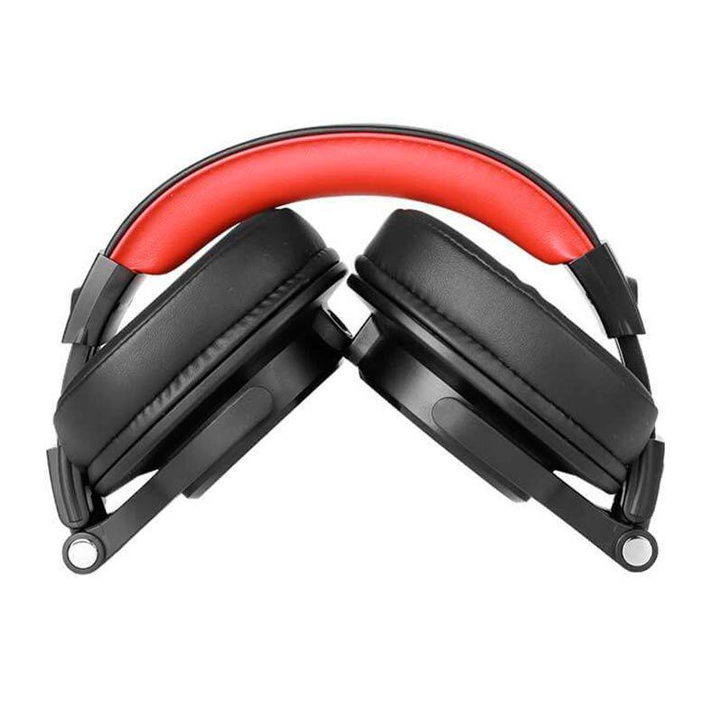 Fone de Ouvido  Oneodio A71 Headphone  Black/Red Dual Conetor