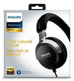 Fone de Ouvido Philips SHL3565BK