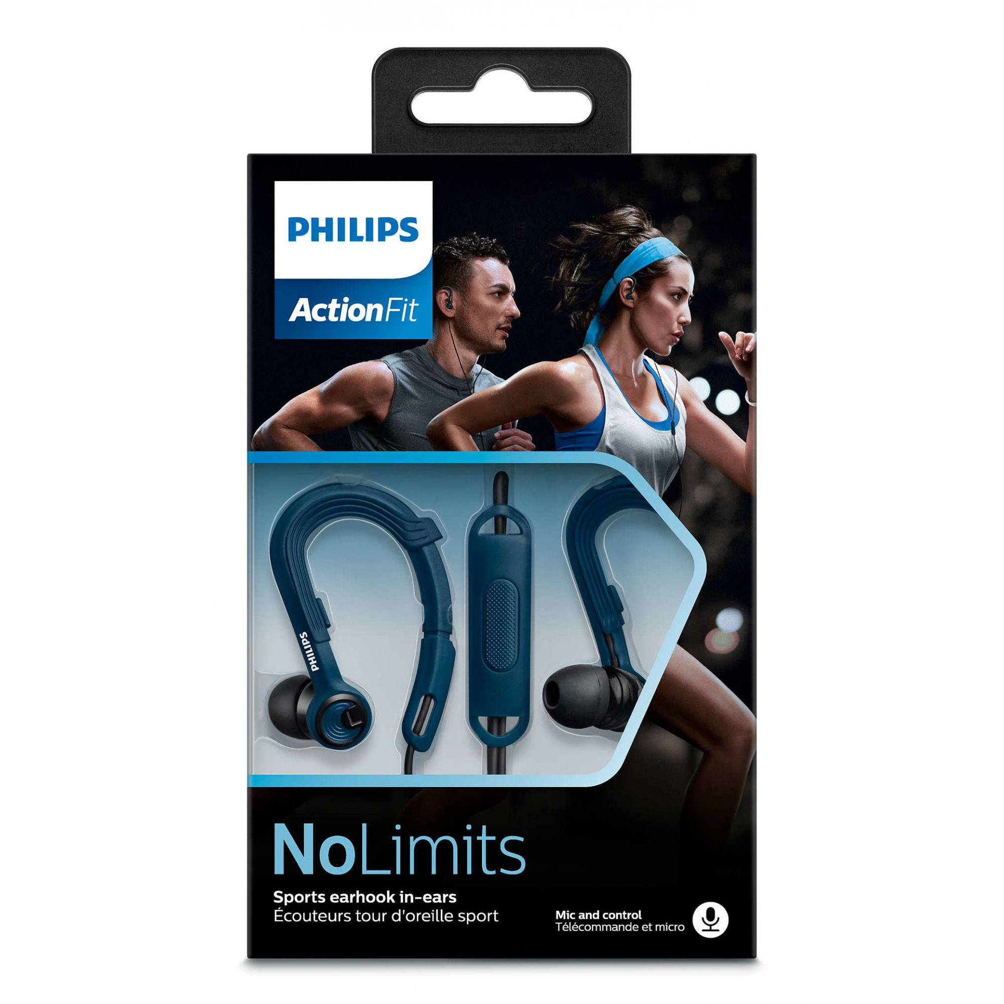 Fone de Ouvido Philips SHQ1400BL/00 |FONELAND