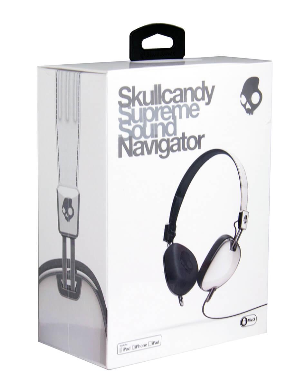 Fone de ouvido Skullcandy Navigator S5AVDM-074Branco|Foneland