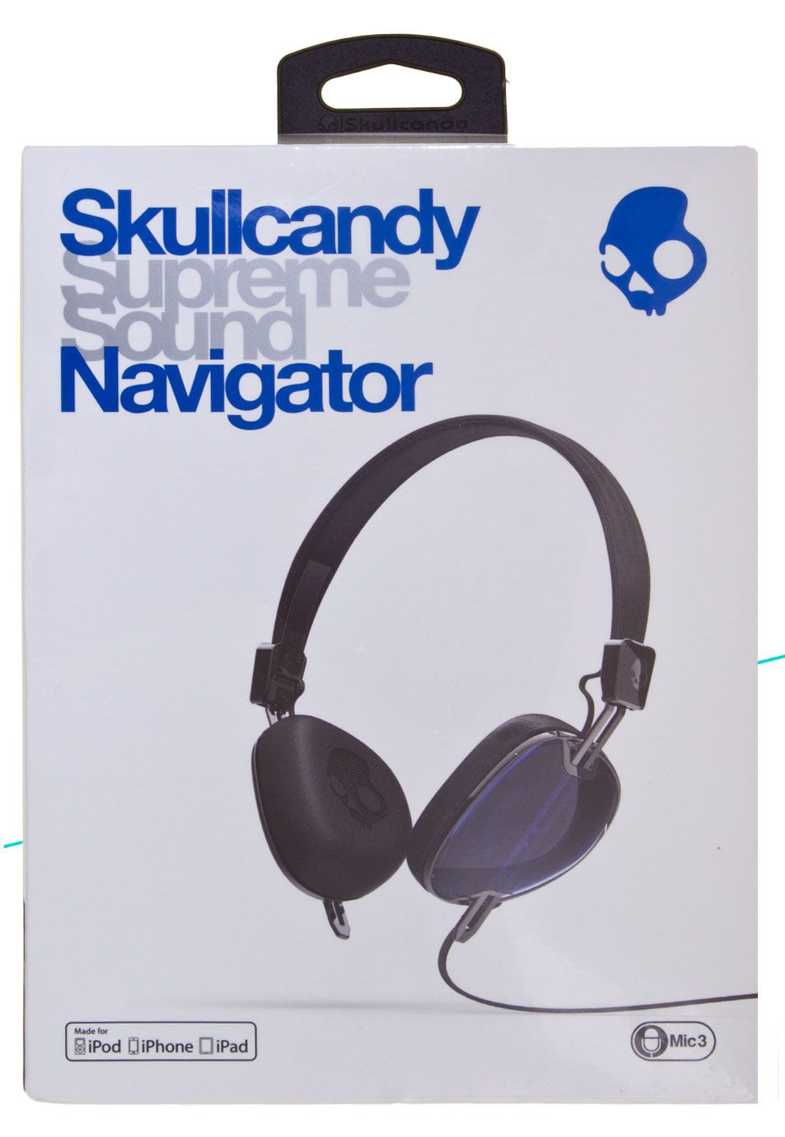 Fone de ouvido Skullcandy Navigator S5AVFM 289Azul