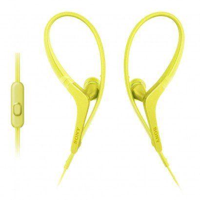 Fone de ouvido Sony para esportes Mdr-as410ap/amarelo
