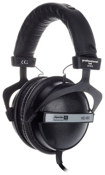 Superlux HD660 - Fone de Ouvido para Monitoramento Profissional