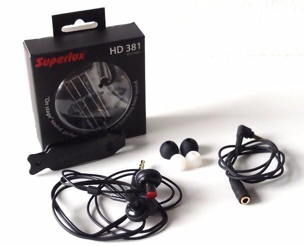 Fone de Ouvido Superlux HD 381 IN-EAR