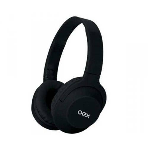 Fone de ouvido OEX HS307 Headset Flow Bluetooth Preto