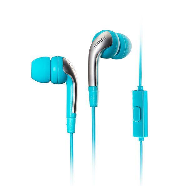 H220P EDIFIER - Fone de ouvido com microfone - Azul