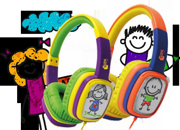 Headphone Cartoon OEX Hp 302 Roxo Verde|Foneland