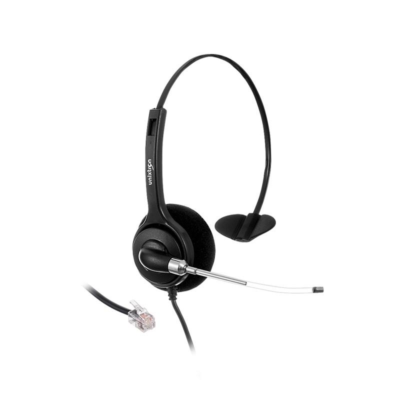 Fone de Ouvido Headset Unixtron HN10 Cygnus Voice RJ - Foneland