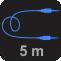 Tamanho do Cabo: 5M