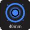 Drivers ( Alto Falante): 40mm