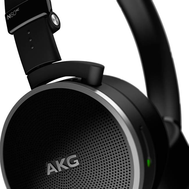 N60NC AKG - Fone de Ouvido Noise Cancelling - On Ear |Foneland