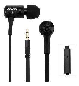 q38i Fone de Ouvido Auricular c/ Microfone Awei - Black