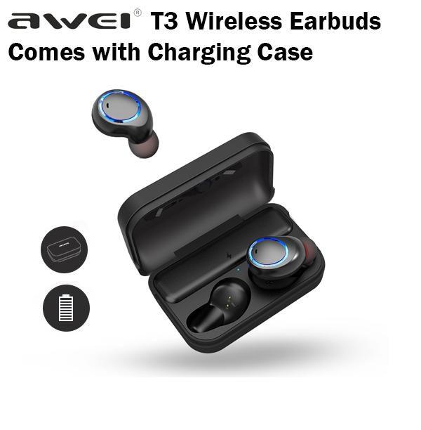 T3 Awei Fone de Ouvido Bluetooth