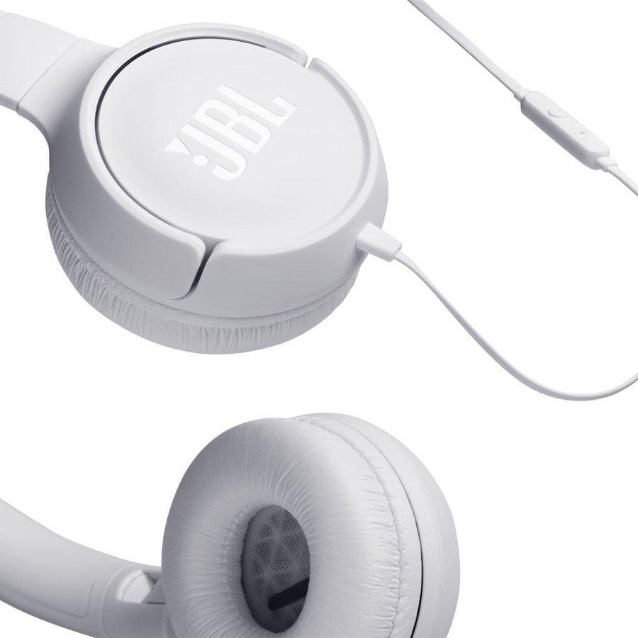 TUNE 500 JBL - Fone de ouvido On Ear - Branco
