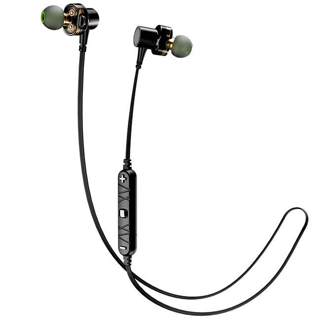 Fone de Ouvido Awei X660BL   Bluetooth para esporte - 4 Falantes
