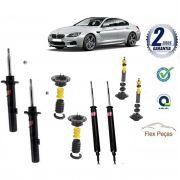 4 AMORTECEDORES BMW SERIE 3 E90/E91/E92/E93 2006 2007 2008 2009 2010 2011 2012 KAYABA + KITS COMPLETO