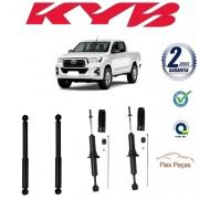 4 AMORTECEDORES TOYOTA HILUX PICK-UP 2005 2006 2007 2008 2009 2010 2011 2012 2013 2014 2015 2016 KAYABA