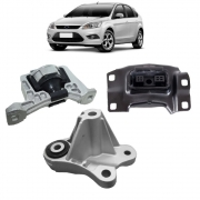KIT 3 COXINS MOTOR CAMBIO FORD FOCUS DURATEC 2.0 2009 2010 2011 2012 2013