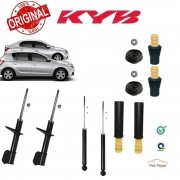 KIT 4 AMORTECEDOR RENAULT LOGAN, SANDERO 2007 2008 2009 2010 2011 2012 2013 2014 KAYABA + KITS