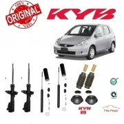 KIT 4 AMORTECEDORES + KITS KAYABA HONDA FIT 2003 2004 2005 2006 2007 2008