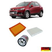 KIT FILTROS CHEVROLET TRACKER 1.4 2017 2018 2019