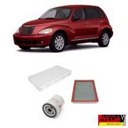 KIT FILTROS CHRYSLER PT CRUISER 2.0 16V 2001 2002 2003 2004