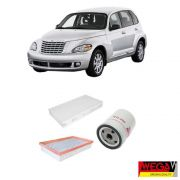 KIT FILTROS CHRYSLER PT CRUISER 2.4 16V 2005 2006 2007 2008 2009 2010